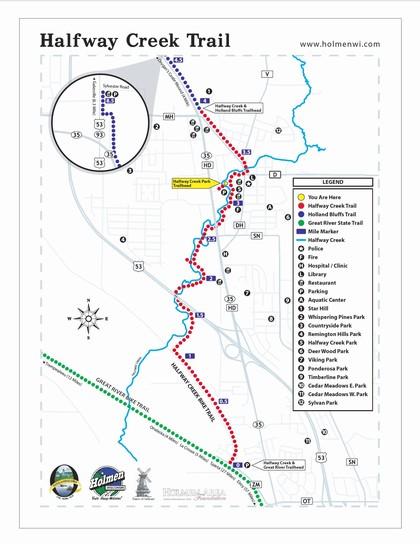 Halfway Creek Trail - Holmen, WI
